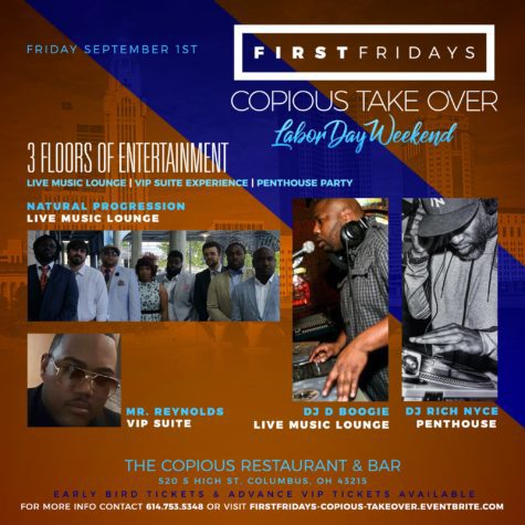 First Fridays Labor Day 2017