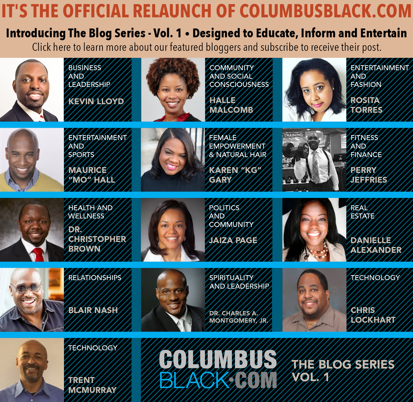 Columbus Black ReLaunch Ad