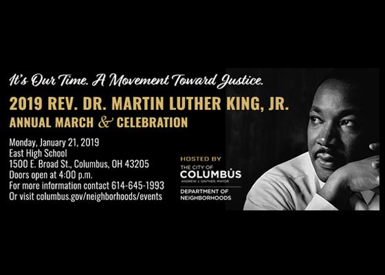2019 Rev Dr Martin Luther King Jr Annual March Celebration
